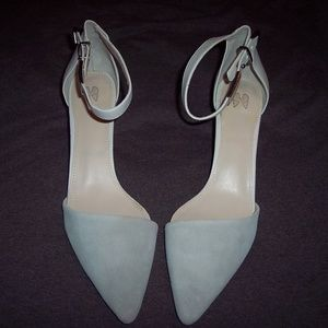 Victoria's Secret Suede High Heel Shoes Size 11